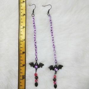 Gothic Shoulder Duster Earrings
